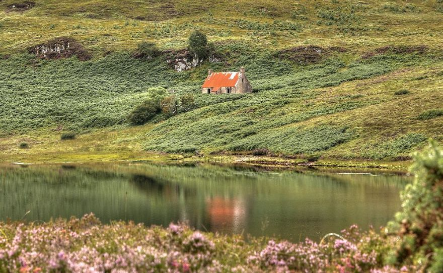 Little House In Wester Ross, Scotland