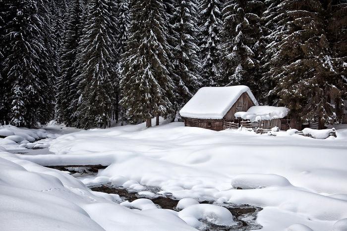 Dream Winter In Jiu Valley