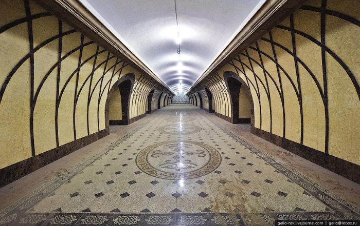 "Almaty, Kazakhstan – Metro Station ""alatau"""