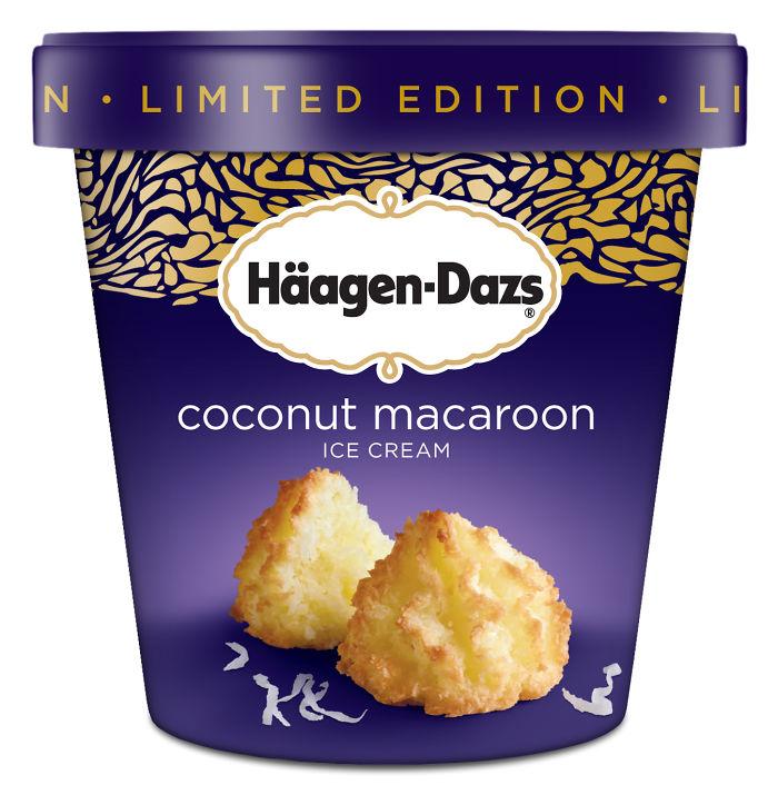 Coconut Macaroon Ice Cream