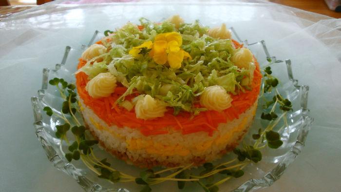 Sushi Cake, Yummy!