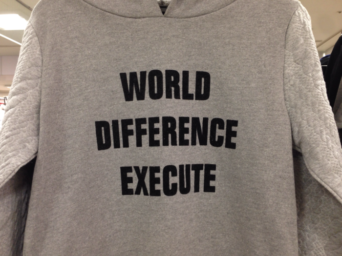 World Difference Execute