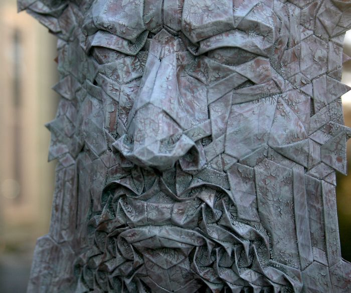 The Amazing Origami Masks Of Joel Cooper