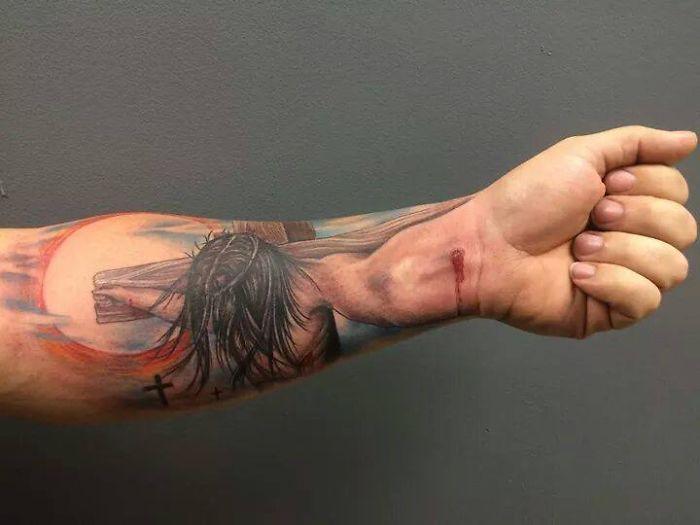 Tattoo Belongs To Jason Kingrey And Was Done By Tony Wheeler.