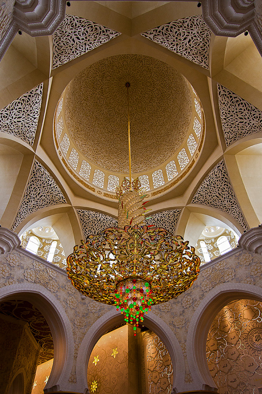 20 Mesmerizing Mosque Ceilings That Highlight The Wonders