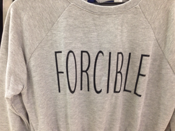 Forcible