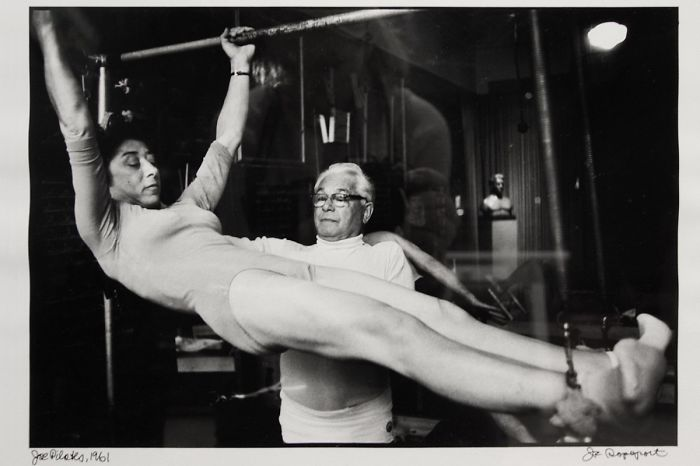 J.pilates Teaching On The Cadillac