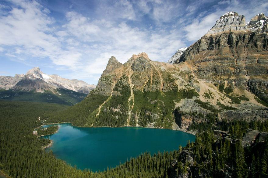 Yoho National Park In British Columbia,canada