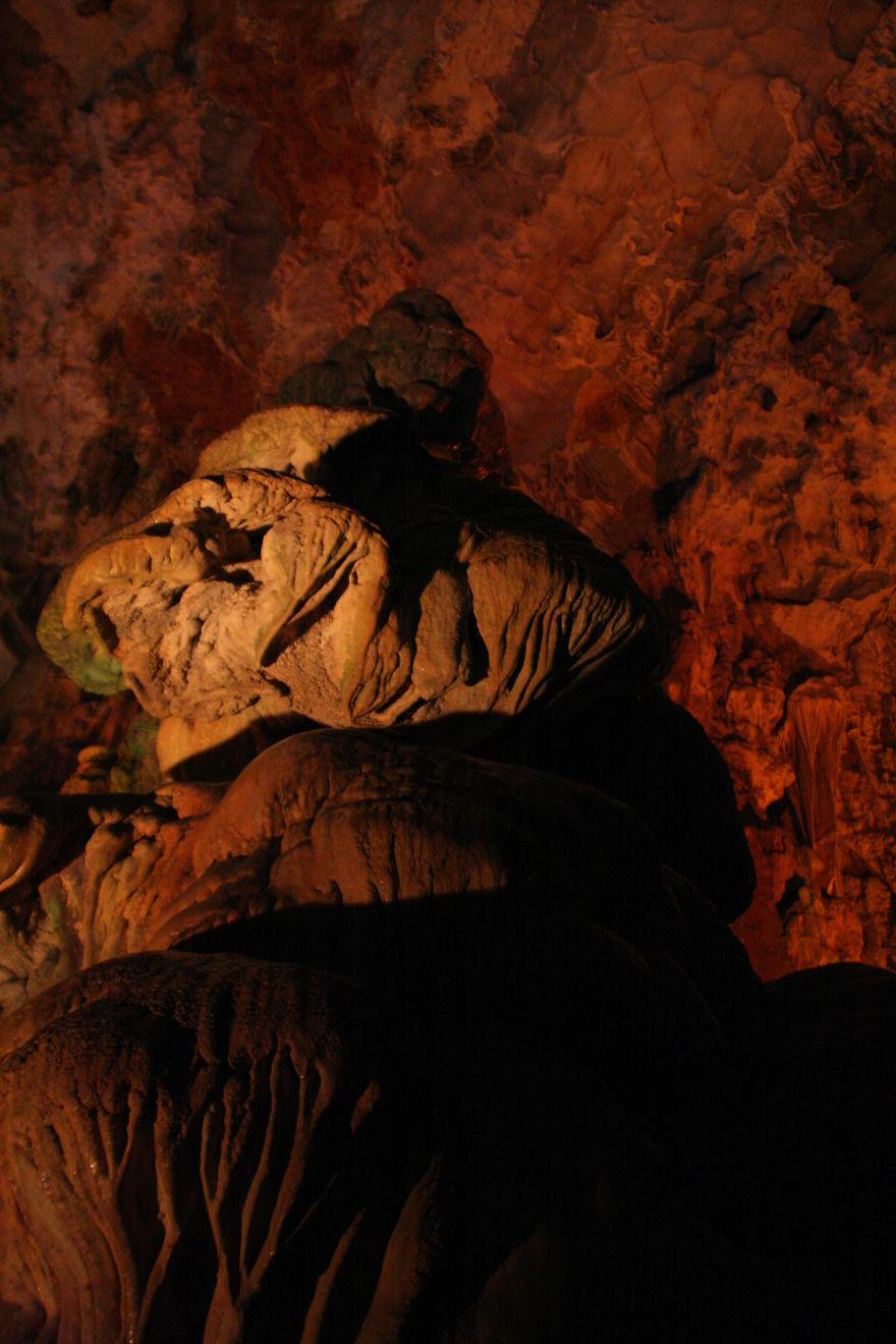 Caves Near Halong Bay, Vietnam