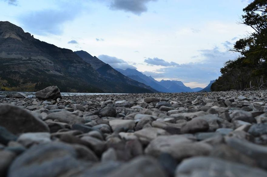 Rocky Shores~ Waterton Lakes National Park, Alberta