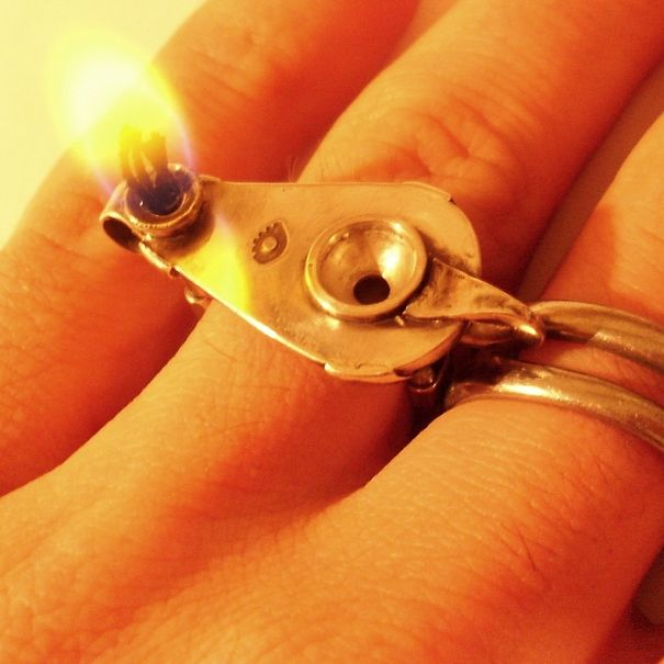 Wick Ring, By Blind Spot Jewellery