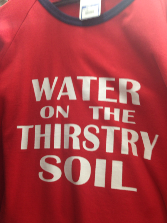 Water On The Thirsty Soil