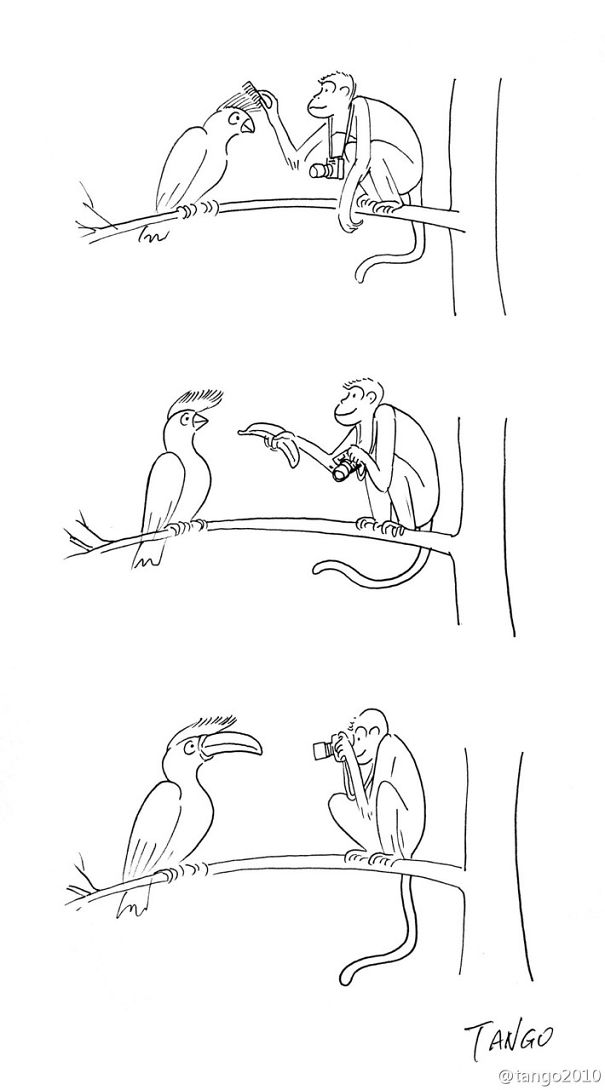 Simple But Clever Comics By Shanghai Tango