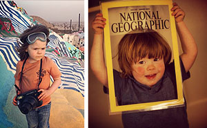 4-Year Old Hawkeye Huey, Son of Nat Geo Photographer, Captures The American West