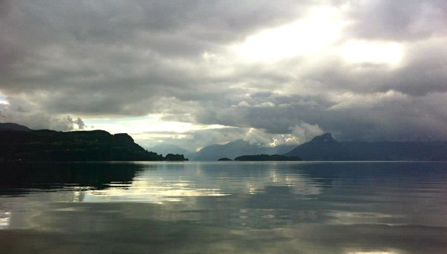 Jondal, Norway - View From Cabbin