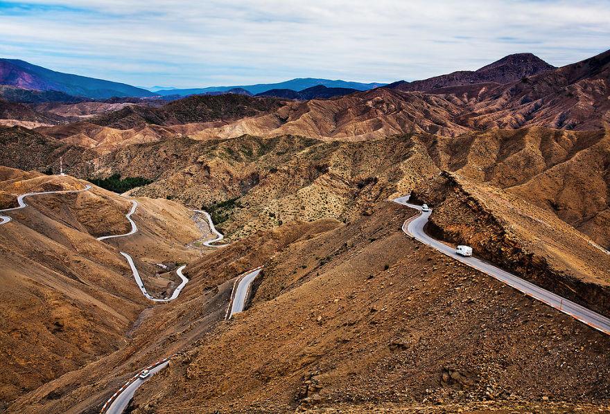 Road On Atlas Mountains - Morocco