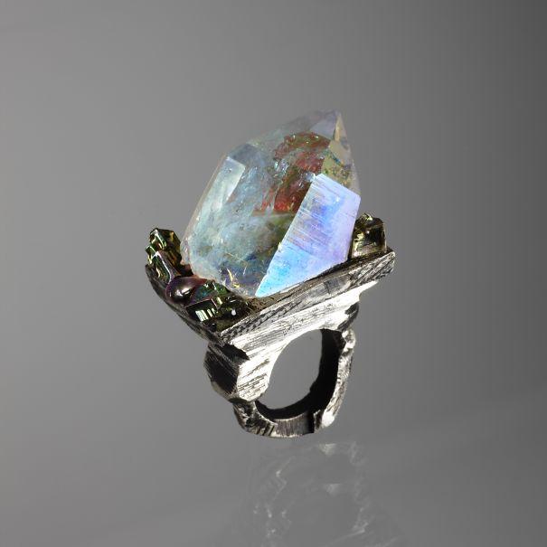 Melancholia Ring By Gaspard Hex