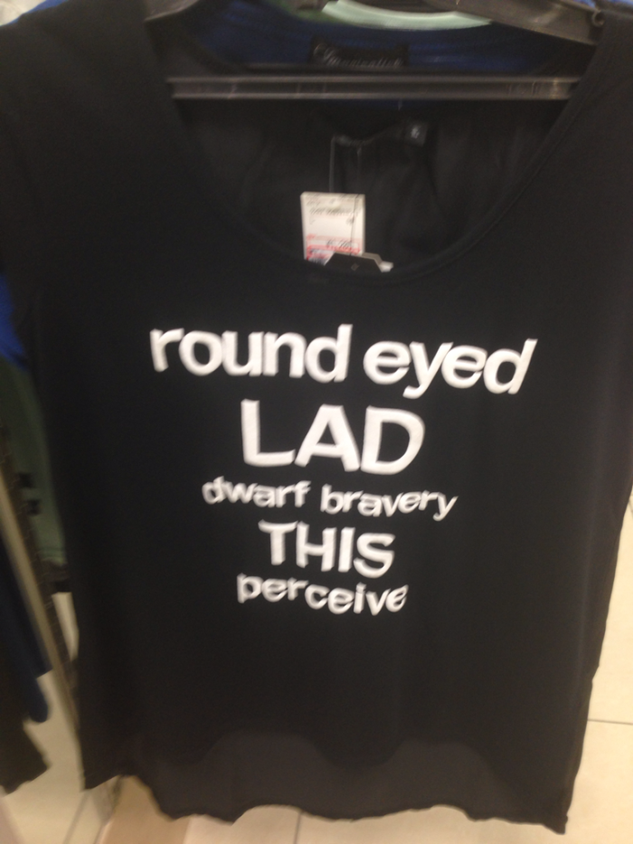 Round Eyed Lad