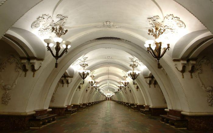 Arbatskaya Station, Moscow, Russia