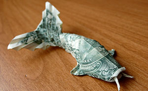 Dollar Bill Origami By CraigFoldsFives