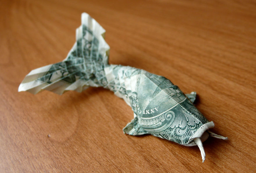 You Should Definitely Give a Carp about these Beautiful Origami Koi | 596x880