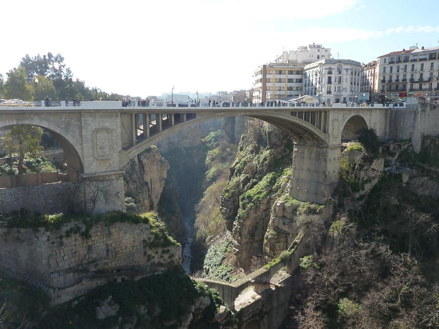 Constantine bridge - Algeria