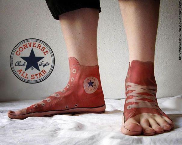Converse Tattoo