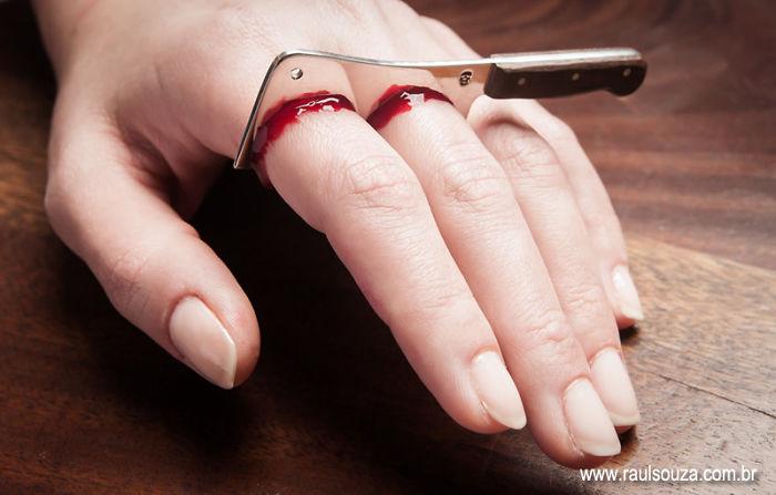 Parmaklar Yüzük Cut