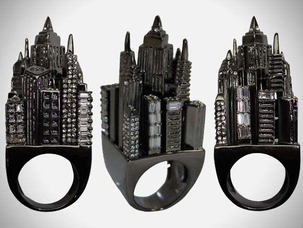 Gotham City Yüzük