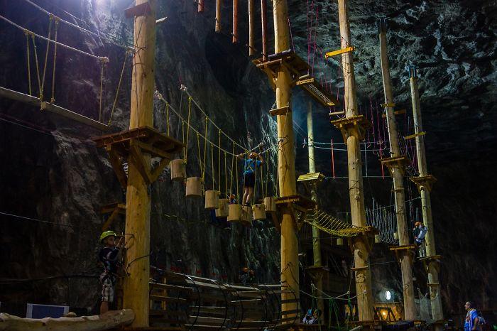Inside The Salt Mine Praid / Romania