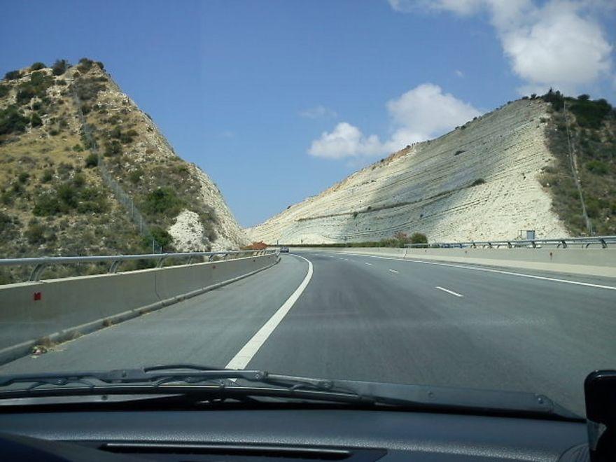 Highway A6 (limassol - Paphos) Near Paramali, Cyprus