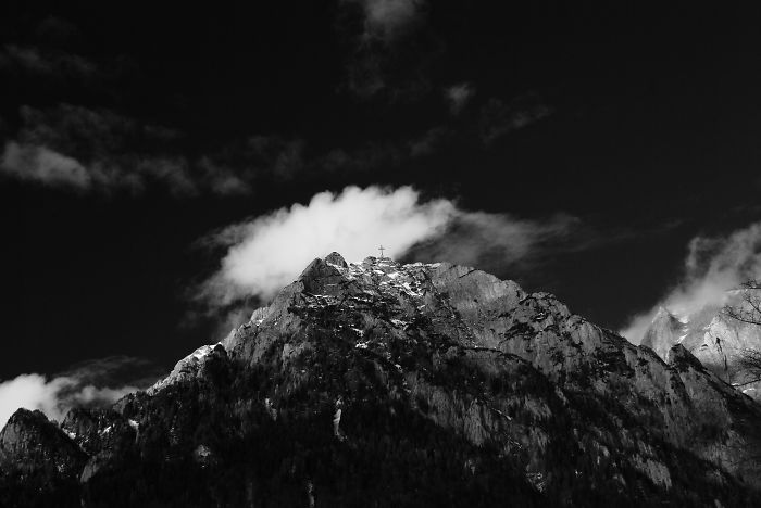 Mountain Caraiman's Peak