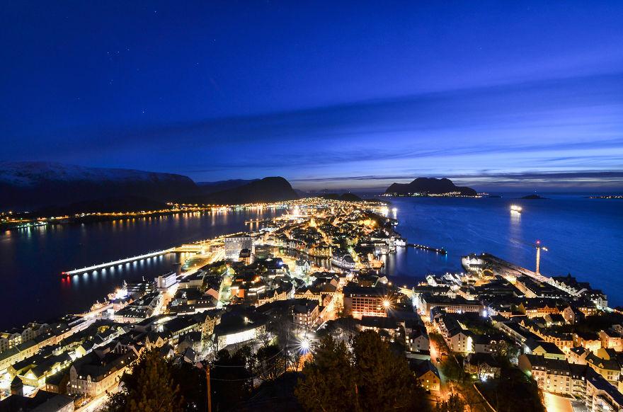 Ålesund By Night