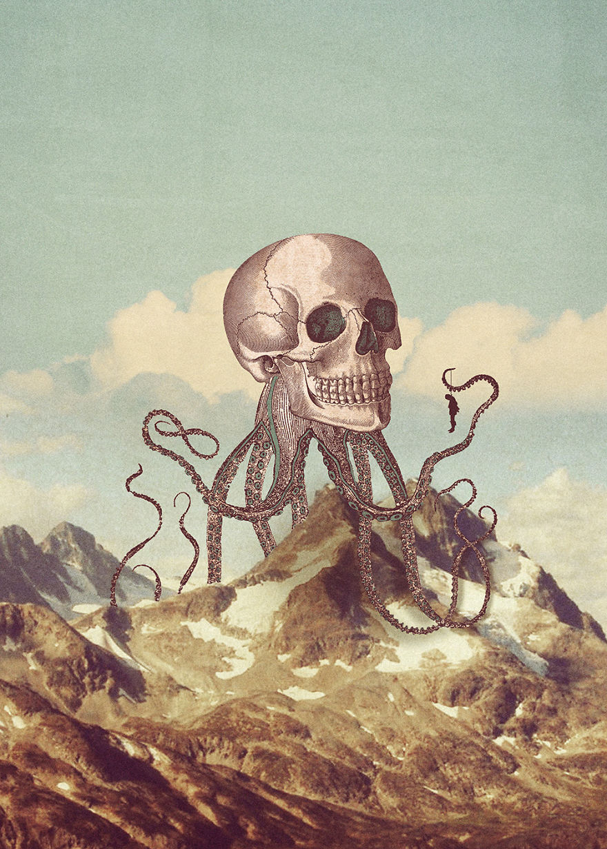 Dreams And Nightmares: My Surreal Illustrations Where Reality Blends With Imagination