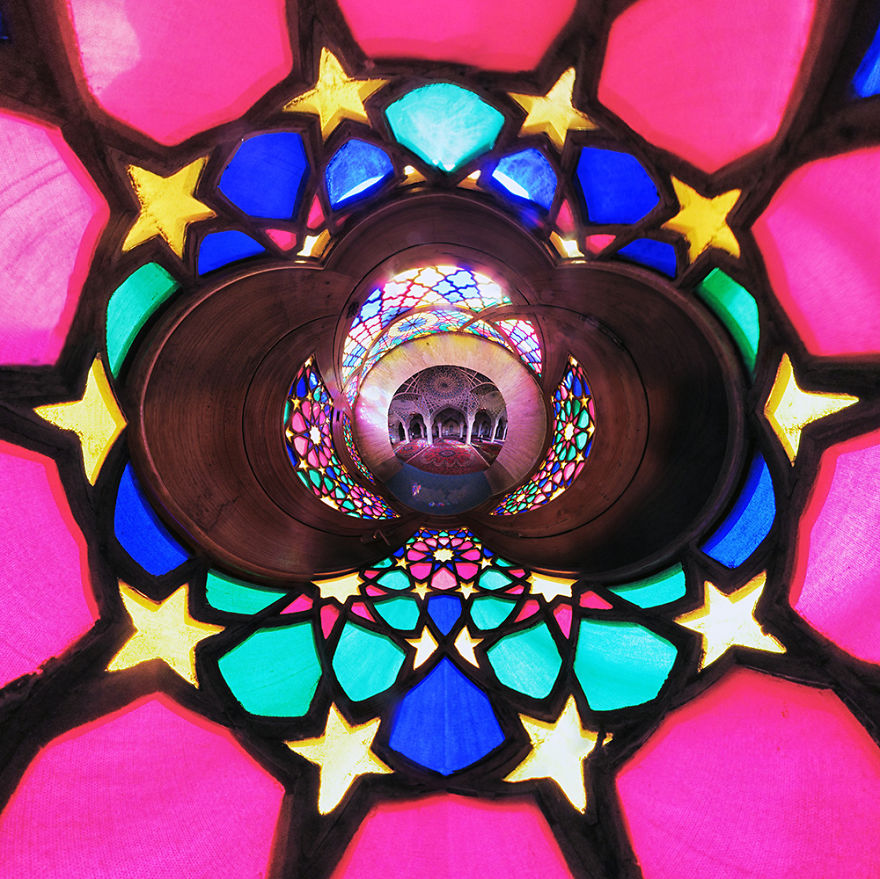 Land Of Colours ( The Nasir Al-mulk Mosque Or Pink Mosque )