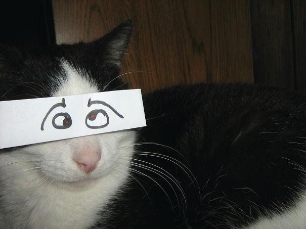 Goofy's Goofy Eyes - No Red-eye Correction Used.