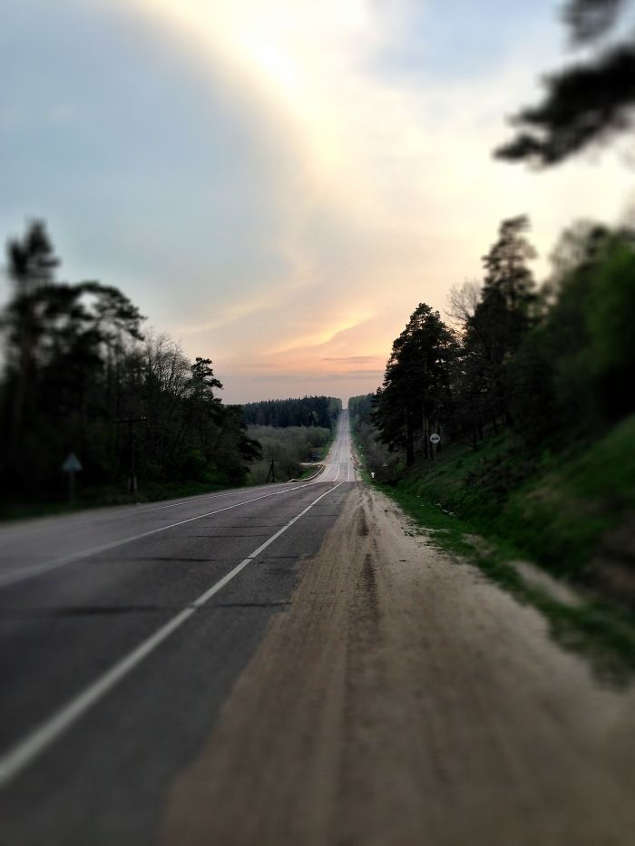 Endless Road, Vladimir Region, Russia