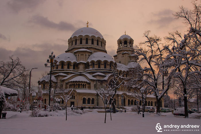 "Sofia, Bulgaria – Cathedral ""st. Alexander Nevski"""