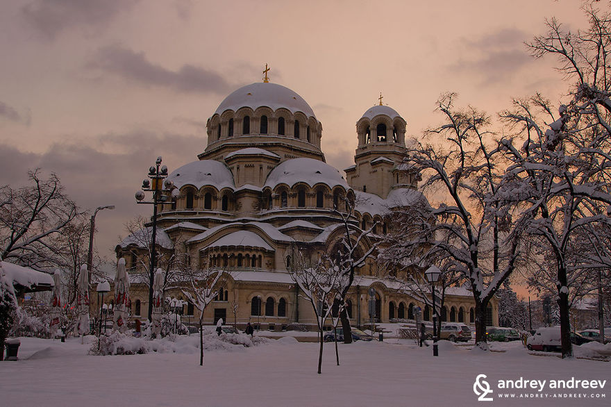 "Sofia, Bulgaria - Cathedral ""st. Alexander Nevski"""