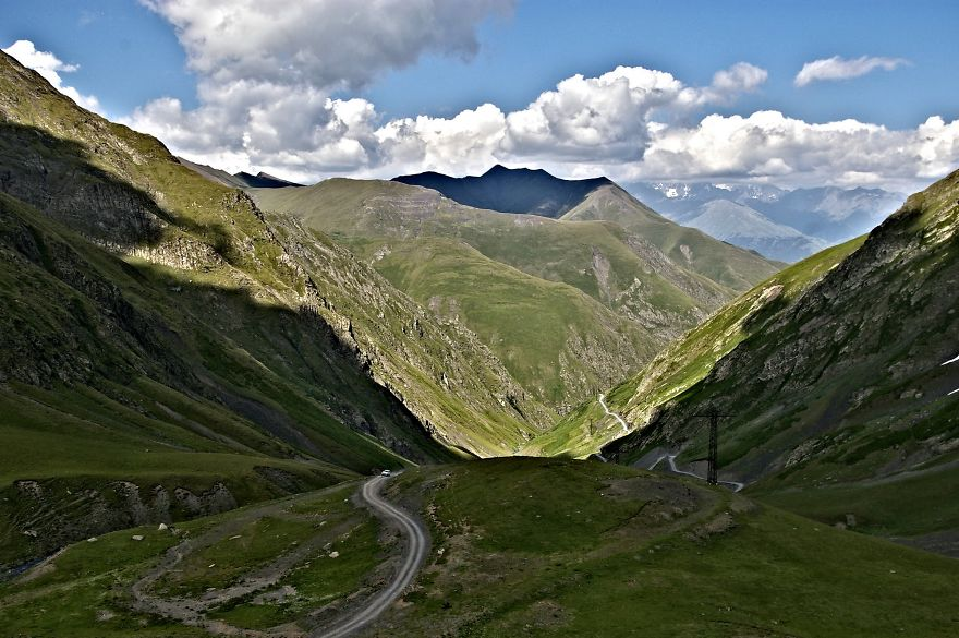 Road To Omalo, Tusheti, Caucasus Mountains, Georgia