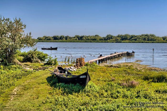 View Of The Danube Delta In Sfantu Gheorghe