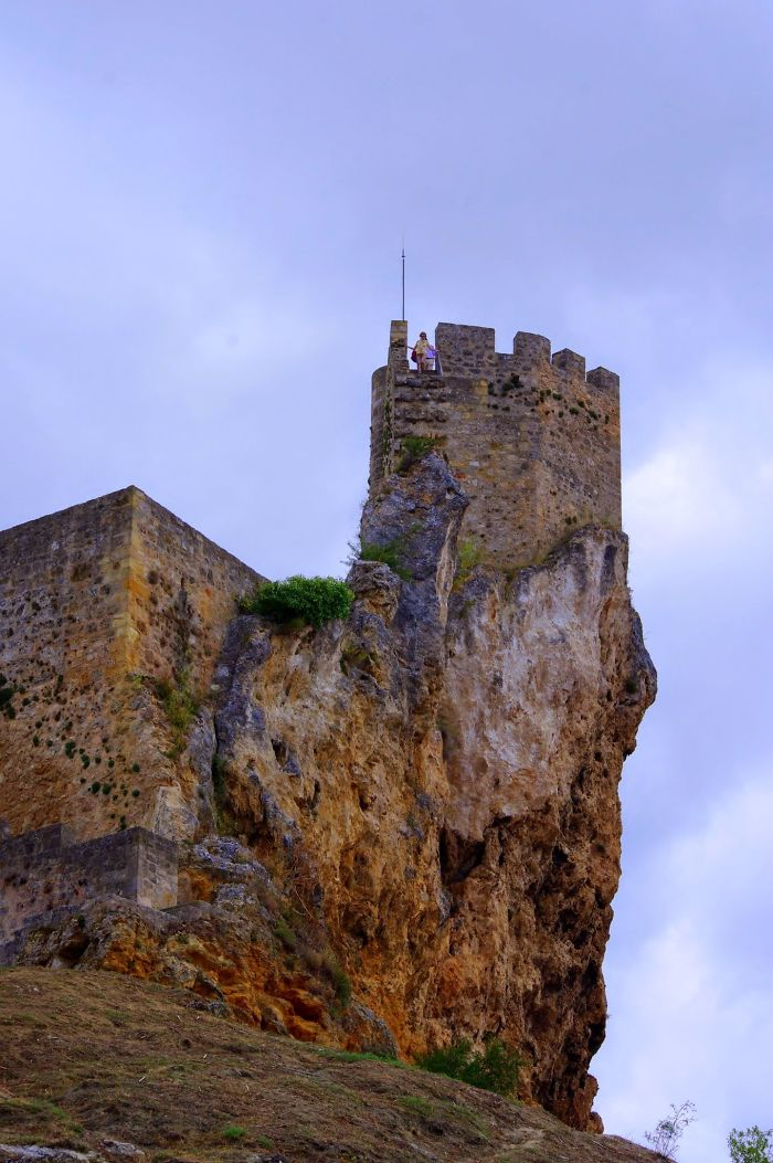 Frias, Burgos Province, Spain – Village And Castle Perched On A Clifftop