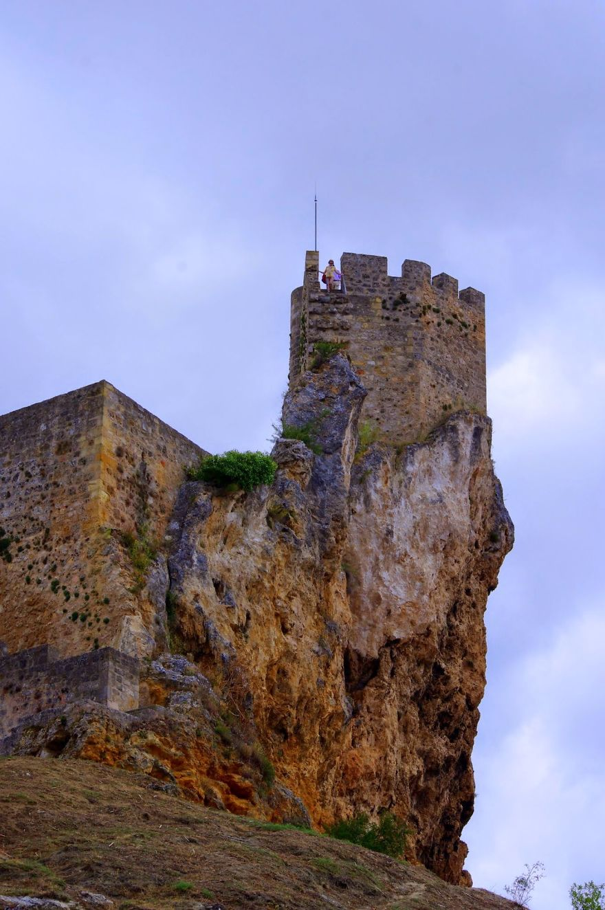 Frias, Burgos Province, Spain - Village And Castle Perched On A Clifftop