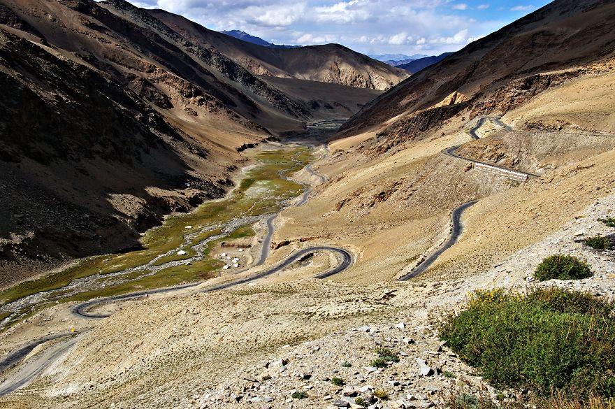 Leh To Manali Road, Ladakh, Himalaya, India