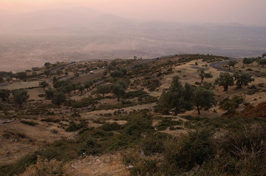 Sh3 – Road Between Elbasan – Tirane, Albania