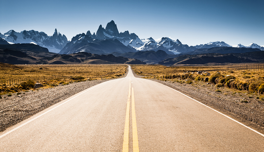 Road To El Chalten, Argentina