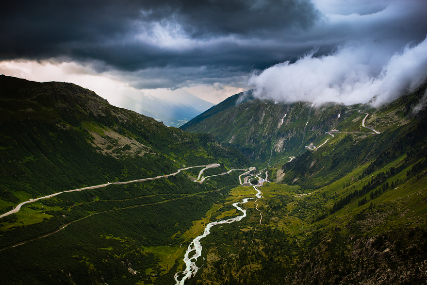 Furka & Grimsel Pass, Switzerland