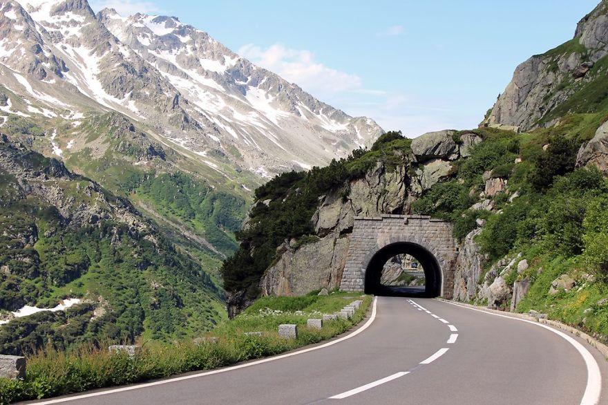 Circuit Of Three Passes, Andermatt, Switzerland