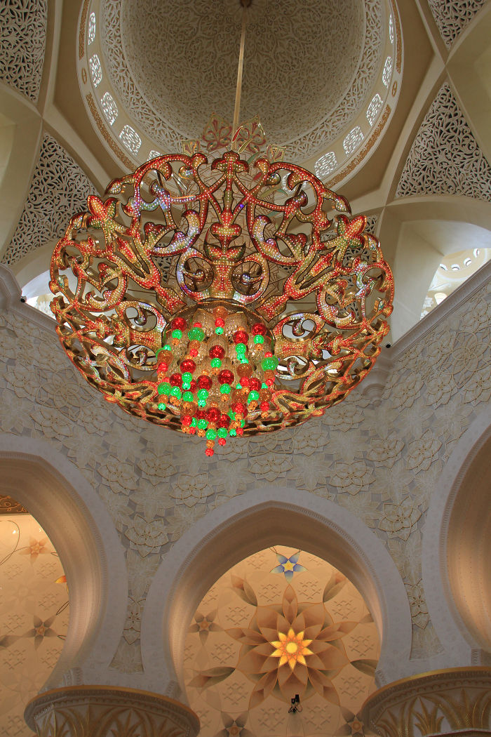 Sheikh Zayed Frand Mosque, Abu Dhabi, Uae