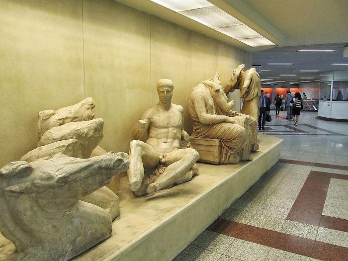 Syntagma Station, Athens, Greece